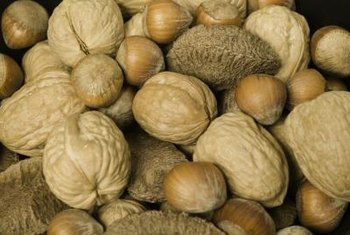 Walnuts supply essential fatty acids.