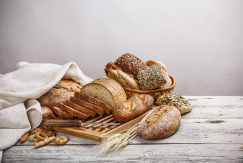 "Sourdough bread relies on long fermentation times to achieve the traditional ""sour"" flavor."