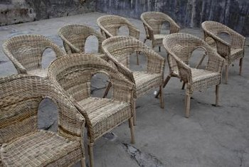 Rattan furniture tends to creak over time, but the right maintenance can reduce the noise.