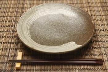 Stoneware's glaze provides lasting sheen with proper care and cleaning.