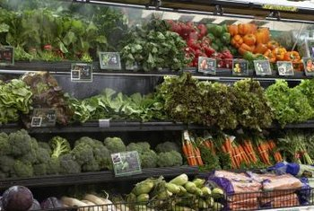 Built-in misting systems keep produce fresher in the short-term.