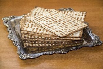 Matzoh is a traditional unleavened food eaten during certain times in the Jewish calendar.