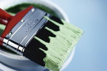 A quality paint requires fewer coats when painting bright walls.