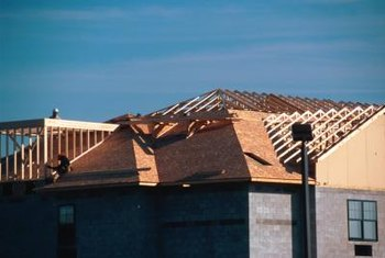 You can estimate plywood needs for a roof with basic formulas.