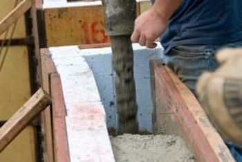 Builders sometimes install the vent screens when they are pouring the foundation.
