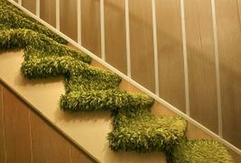 Replace the carpet on stairs if you change the carpet in the room.