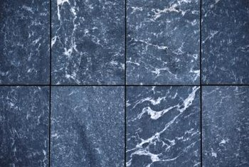 Marble is available in tile squares for countertops.