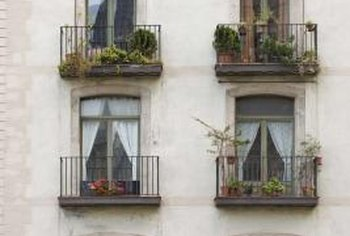 Condo associations sometimes restrict what you can place on your balcony.