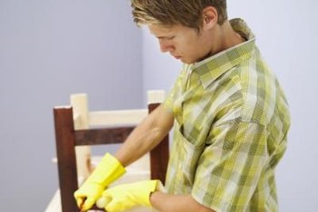 Although most stains are safe for interior applications, their strong smell can be irritating.