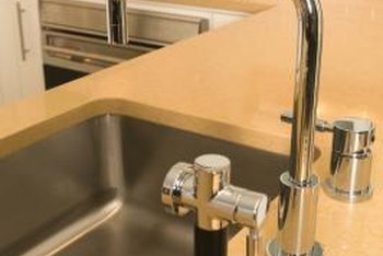 Easily Replace A Damaged Or Discolored Sink Sprayer Base.