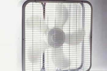 A large fan can circulate the air in a room with wet carpeting.