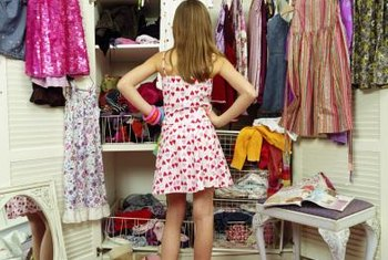 Customizing your closet's storage to your wardrobe and habits can make it easier to organize.