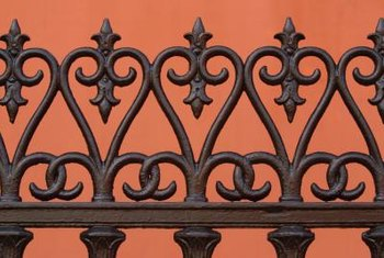 Ornamental details on some fences make them suitable as interior decor.