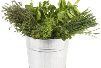 Fresh herbs were an essential part of the original ranch dressing.