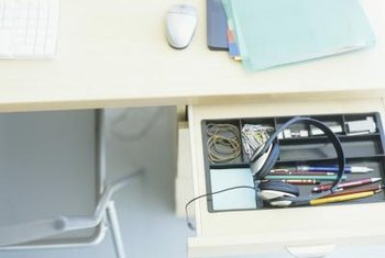 Repair your desk instead of replacing it.
