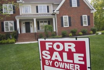 There are several methods to list a house for sale by owner.