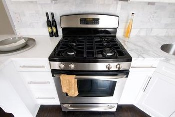 While ovens are heavy, they can usually be moved without too much difficulty.