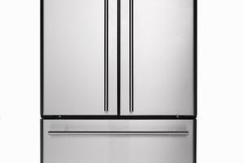 Refrigerators can weigh 200 lbs. or more, depending on the model.
