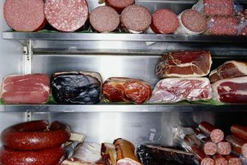 Sodium nitrite can be found in processed and cured meat products.