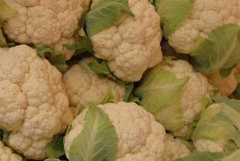 Store cauliflower in the refrigerator for up to three weeks.