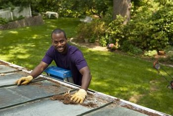 WaterFall gutter guards eliminate the dirty job of cleaning gutter debris.