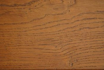 The grain in hardwood flooring adds to its attractiveness.