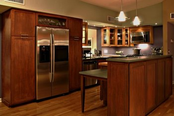 Before moving your fridge, sweep the floor; dirt causes scratches.