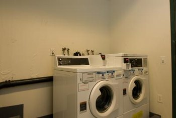 A washer and gas dryer can share a dedicated 120-volt, 20-amp circuit.