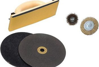 All grinding wheels have center hole mounts.