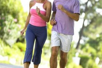 Exercise regularly to reduce blood cholesterol and heart disease risks.