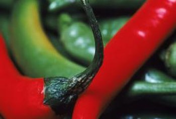 Red and green peppers have several distinct differences.