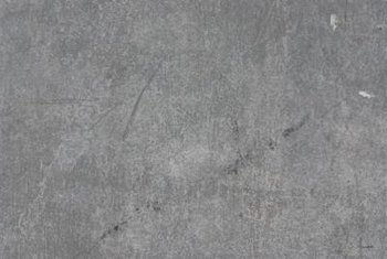 A plain concrete wall can benefit from texture.