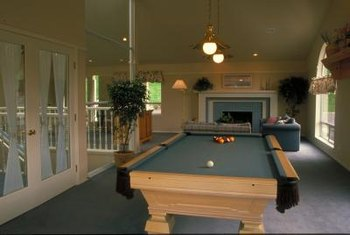 Pendant Lights Can Provide Illumination Directly Over The Pool Table And Add A Decorative Touch To