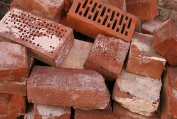 Use recycled bricks in the greenhouse as a thermal mass.