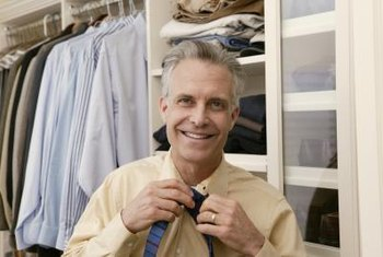 A sharp-dressed man needs a well-organized closet.