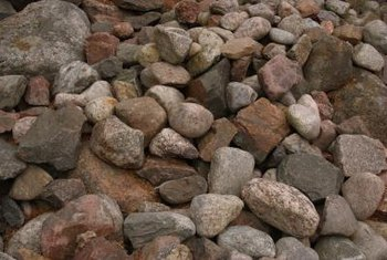 Neighbors will be more willing to pick up clean rocks that are easily accessible.