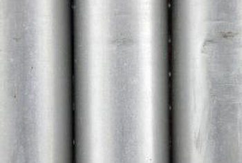 Metal ducts are used to remove exhaust from heaters that run on gas.
