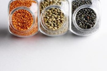 Growing your own lentils brings natural color to the pantry.