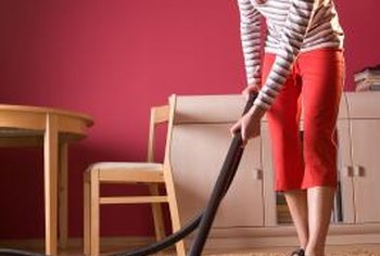 Vacuuming removes dirt buried deep within carpets and pads.