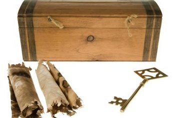 Because cedar is resistant to decay, it is used for storage chests.
