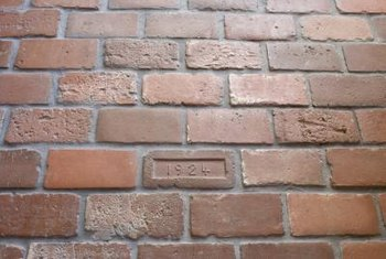 Ask local historic preservation societies about rules that apply to altering old brick.