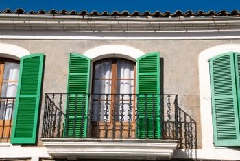 Shutters offer you the ability to cut incoming sunlight by 100 percent --- and they look stylish.