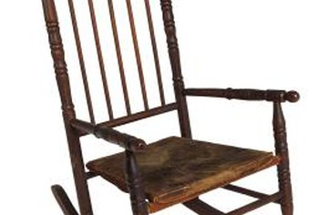 Refinishing a wooden chair can make it look brand new.