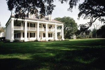 The outside of your home may not be as opulent as a Southern plantation, but the inside can be.