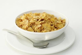 Your bowl of cereal jump-starts your vitamin and mineral intake.