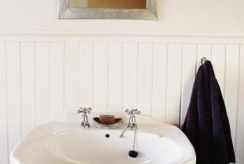 A sparkling sink is an essential part of a clean bathroom.