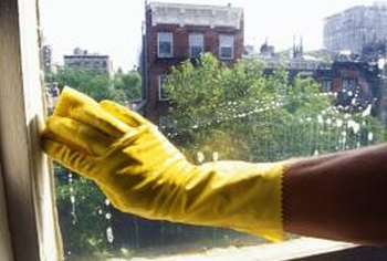 Wear gloves when cleaning to protect your hands.