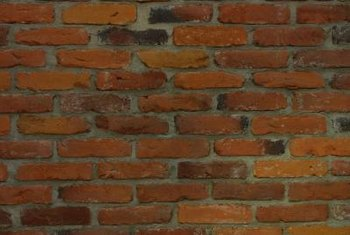 Unglazed, old brick walls may soften or deteriorate.