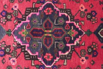 Match a rug with a painting.