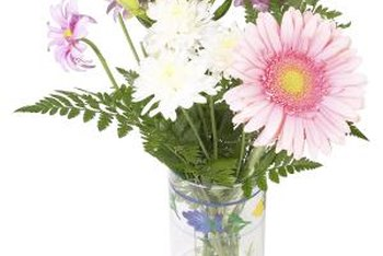 Cut flowers last longer in water fortified with sugar.
